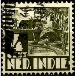 (205) Indias Holandesas. 1938-40. 4 Cents (Usado)