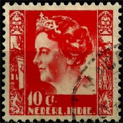 (173) Indias Holandesas. 1933-37. 10 Cents (Usado)