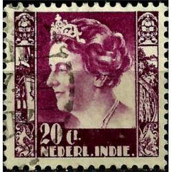 (176) Indias Holandesas. 1933-37. 20 Cents (Usado)