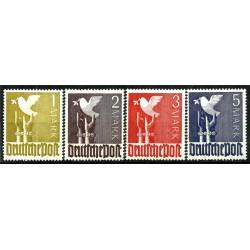 (574 a 577) Alemania Federal. 1947. Serie Completa. Paz (Nuevo)