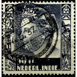 (183) Indias Holandesas. 1934. 50 Cents. Wilhelmina (Usado)