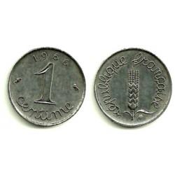 (928) Francia. 1966. 1 Centime (EBC)