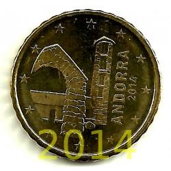 Andorra. 2014. 10 Céntimos (SC)