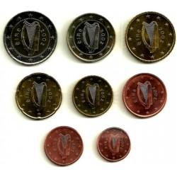 Irlanda. 2002. Serie Completa (8 Valores) (SC)