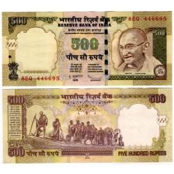 (99d) India. 2009. 500 Rupees (SC)