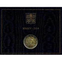 Ciudad del Vaticano 2014 2 Euro (SC)