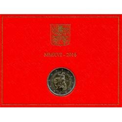 Ciudad del Vaticano. 2016. 2 Euro (SC)