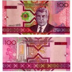 (18) Turkmenistán. 2005. 100 Manat (SC)