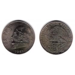 (460) Estados Unidos Mexicanos. 1981. 1 Peso (MBC)