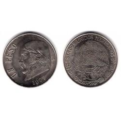 (460) Estados Unidos Mexicanos. 1977. 1 Peso (MBC+)