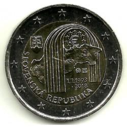 Eslovaquia. 2018. 2 Euro (SC)