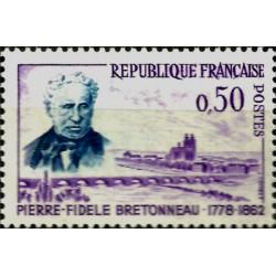 (1022) Francia. 1962. 50 Centimes. Pierre-Fidele Bretonneau (Nuevo)