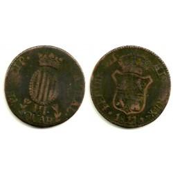 Fernando VII. 1811. 3 Cuartos (BC) Ceca de Cataluña