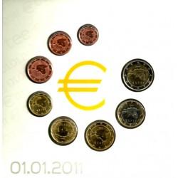 Estonia. 2011. Euroset No Oficial (SC)