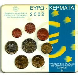 Grecia. 2002. Cartera Oficial (SC)