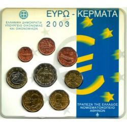 Grecia. 2003. Cartera Oficial (SC)