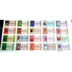 Loteria Nacional. 1969. Año Completo (36 Décimos). Refranero Popular