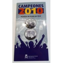 España. 2010. 20 Euro (SC) Cartera FNMT