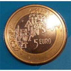 Finlandia. 2006. 5 Euro (SC) Presidencia EU