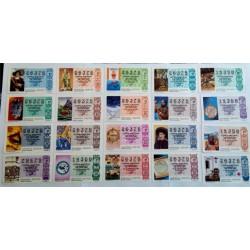 Loteria Nacional. 1986. Año Completo (51 Décimos)