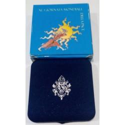 Ciudad del Vaticano. 2007. 5 Euro (Proof) (Plata)