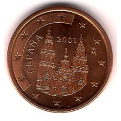 España. 2001. 5 Céntimos (SC)