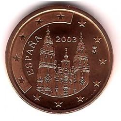 España. 2003. 5 Céntimos (SC)