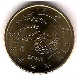 España. 2003. 10 Céntimos (SC)