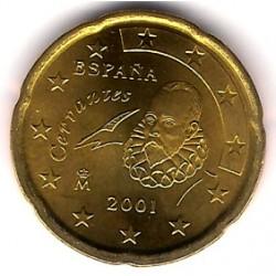 España. 2001. 20 Céntimos (SC)