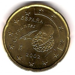 España. 2002. 20 Céntimos (SC)