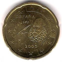 España. 2003. 20 Céntimos (SC)