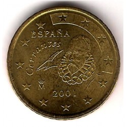 España. 2001. 50 Céntimos (SC)