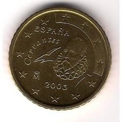 España. 2003. 50 Céntimos (SC)