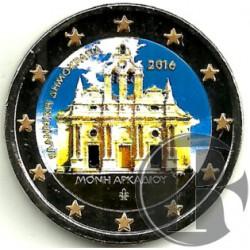 Grecia. 2016. 2 Euro (SC) Coloreada