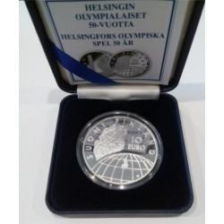 Finlandia. 2002. 10 Euro (Proof) (Plata)