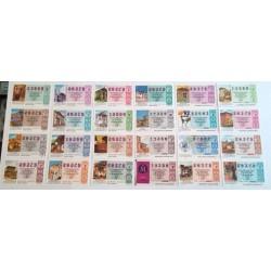 Loteria Nacional. 1992. Año Completo (51 Décimos)