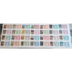 Loteria Nacional. 1993. Año Completo (51 Décimos)
