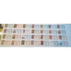 Loteria Nacional. 1997. Año Completo (51 Décimos)