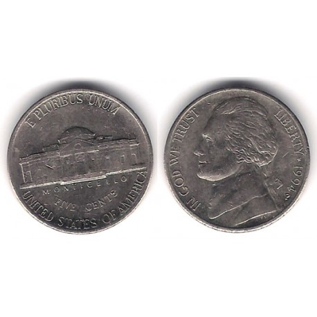 (A192) Estados Unidos de América. 1994(P). 5 Cents (MBC)