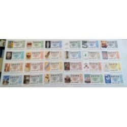 Loteria Nacional. 2001. Año Completo (51 Décimos)