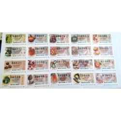 Loteria del Jueves. 2002. Año Completo (50 Décimos)