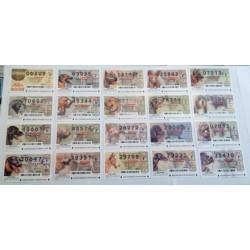 Loteria del Jueves. 2004. Año Completo (53 Décimos)