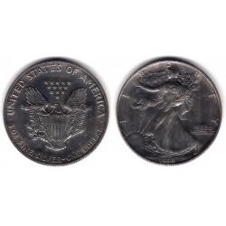 (273) Estados Unidos de América. 1992. 1 Dollar (EBC+) (Plata)