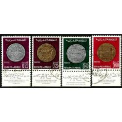 (216 a 219) Marruecos. 1968. Serie Completa. Monedas Antiguas (Usado)