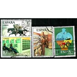 (2329 a 2332) 1976. Serie Completa. Servicio de Correos (Usado)