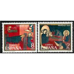 (2061-2062) 1971. Serie Completa. Navidad (Nuevo)