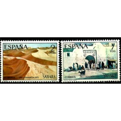 Sahara Español. 1973. Serie Completa. Pro Infancia (Nuevo)