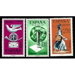 Sahara Español. 1968. Serie Completa. Día del Sello (Nuevo)