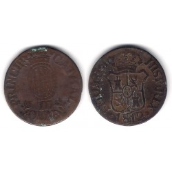 Fernando VII. 1812. 3 Cuartos (BC-) Ceca de Cataluña