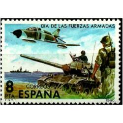 (2572) 1980. 8 Pesetas. Día de las Fuerzas Armadas (Nuevo)